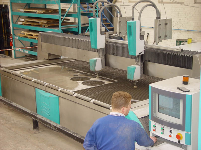 Fabcon Food Systems Ltd  Norwich - Water Jet Cutting